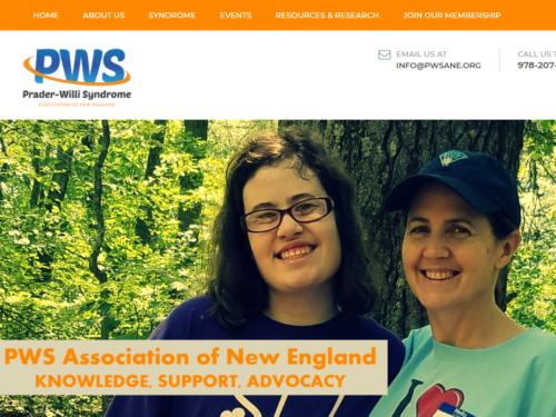 Prader-Willis Syndrome Association of New England