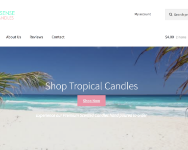 Tropical Sense Candles